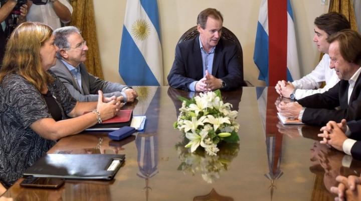 Bordet repasó con el titular de Vialidad Nacional las obras cofinanciadas con Nación que se ejecutan en Entre Ríos - RUTA N°127