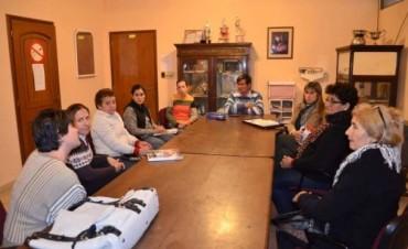 Reunión del Consejo Municipal de Discapacidad