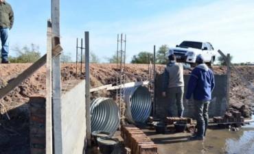 La Municipalidad realiza distintos trabajos en la zona urbana y rural