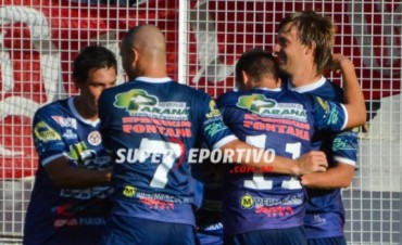 Paraná volvió a sumar de a tres frente a Guaraní Antonio Franco