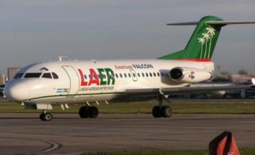 El Gobierno de Entre Ríos contrata vuelos con empresa que no vuela