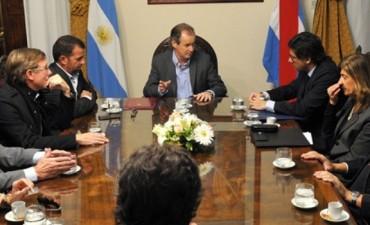 Bordet recibió al ministro de Justicia de la Nación y prometió colaboración para avanzar contra el narcomenudeo