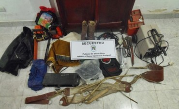 Policía de Nueva Vizcaya recupera elementos robados en zona Rural