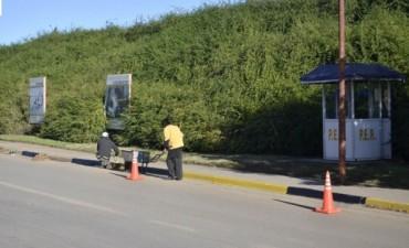 Obra de desagües pluviales, mantenimiento vial y trabajos de limpieza general