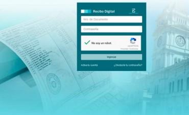 Estatales provinciales ya pueden acceder al recibo digital
