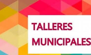 Cronograma para hoy de los talleres municipales en diferentes barrios