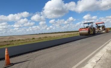 Comenzó la repavimentación de la ruta provincial Nº 32