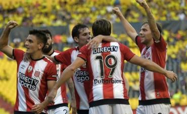 Copa Libertadores: Estudiantes goleó al Barcelona pero no alcanzó