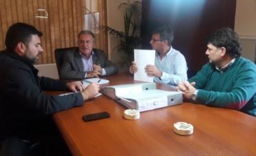 El Intendente gestionó importantes proyectos de obras hidráulicas, cloacales y otras