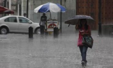 Extienden el área del alerta por tormentas para Entre Ríos