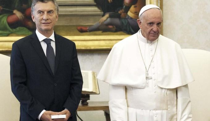 Macri le agradeció la carta de felicitaciones por el 25 de mayo al Papa Francisco