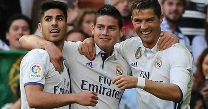 Real Madrid goleó y acaricia el título