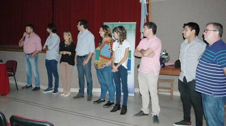 El Intendente participo del encuentro de Centros de Estudiantes de Federal