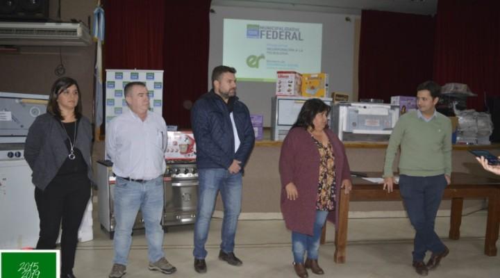 """ENTREGA DE HERRAMIENTAS A EMPRENDEDORES DEL PROGRAMA """"INCORPORACIÓN A LA TECNOLOGÍA"""""""