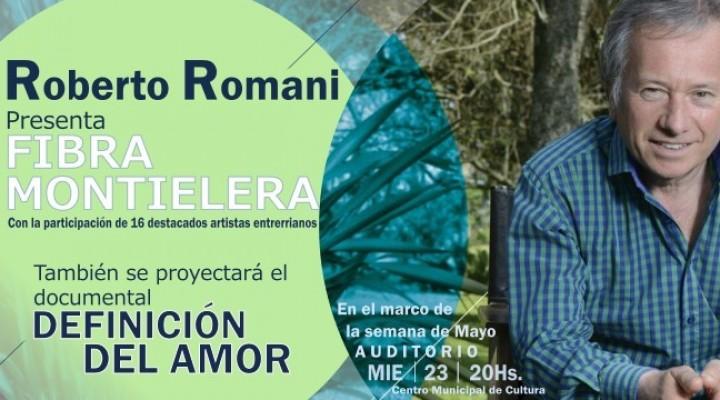 ESTE MIÉRCOLES ROBERTO ROMANI PRESENTA EN FEDERAL SU NUEVO DISCO