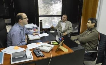 El intendente de Conscripto Bernardi y el Senador Provincial se reunieron con el Ministro Carlos Ramos