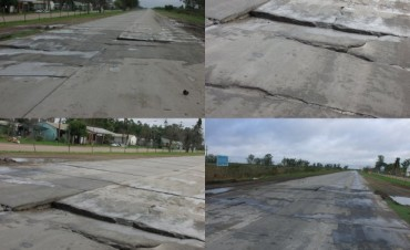 El Intendente de Los Conquistadores ordenó reparar la ruta 127