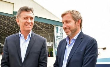 El presidente Macri viajará a Chajarí y el ministro Frigerio estará en Paraná
