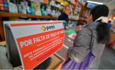 Farmacias de todo el país cortan la atención a afiliados al PAMI