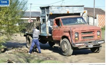 Se continua con las tareas de mantenimiento en la ciudad