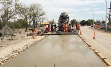 Continúa la obra de rehabilitación del acceso a Piedras Blancas en el departamento La Paz
