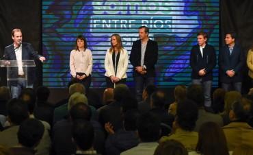 Bordet presentó los candidatos de Somos Entre Ríos