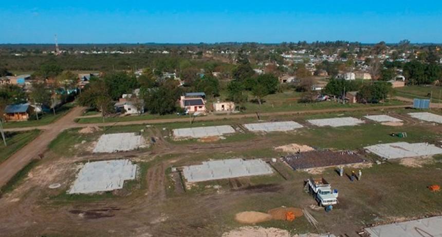 El municipio recibió mas de 5 millones de pesos para continar la obra de las 100 viviendas en Federal.