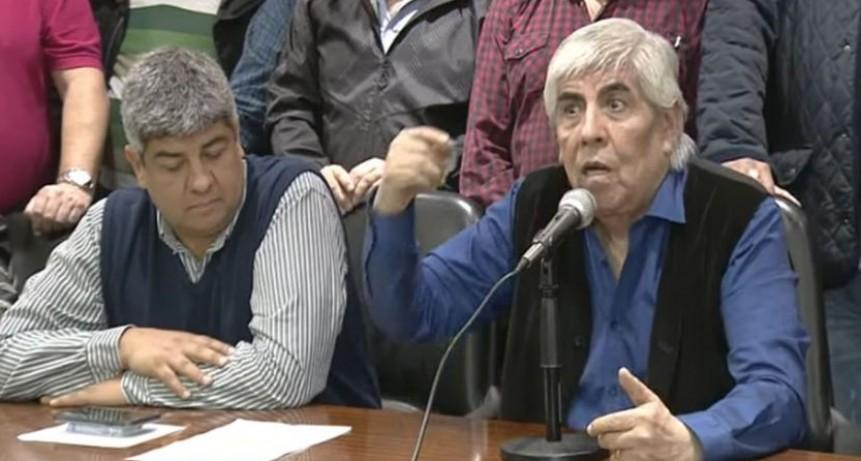 Moyano consiguió un aumento del 25% para Camioneros y levantó el paro de 48 horas