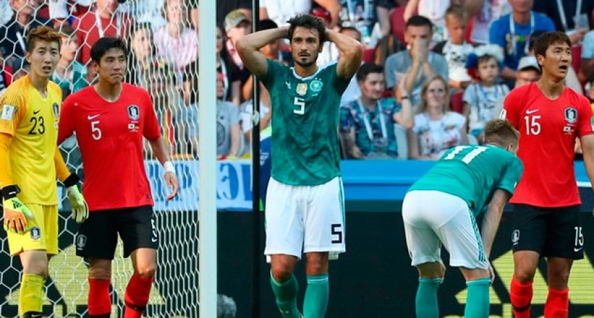 Sorpresa mundial: el campeón Alemania quedó afuera en la primera fase