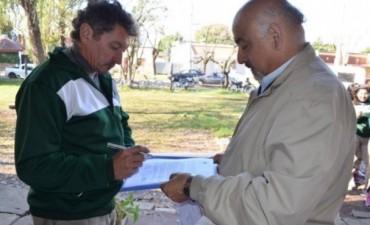 La Escuela Agrotécnica recibió un aporte Municipal