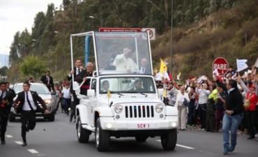 Así es la visita del Papa Francisco en Ecuador