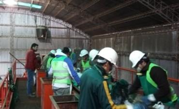 El Intendente recorrió el avance de obras y proceso de trabajo en la Planta de Residuos