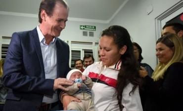 El gobierno entrerriano lanzó el programa Cobijarte para recién nacidos