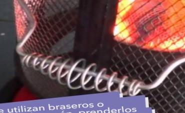 Salud recordó medidas de prevención para evitar intoxicaciones por monóxido de carbono
