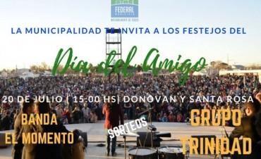 El Municipio organiza los festejos por el dia del amigo