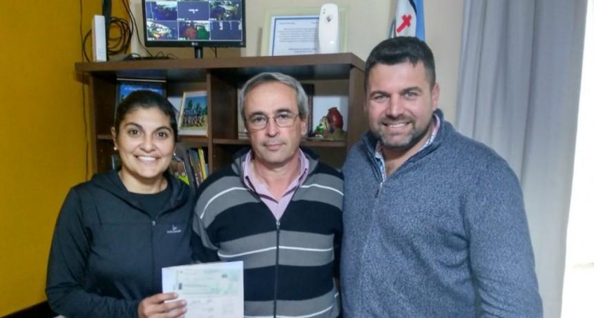 EL MUNICIPIO REALIZÓ UN APORTE AL CLUB ATLÉTICO FERROCARRIL