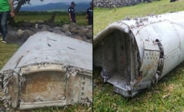 Confirman que los restos hallados son del vuelo MH370 de Malaysia Airlines