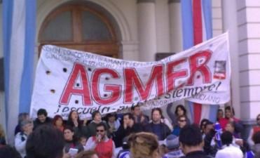 Agmer definiría más medidas de fuerza en el congreso del próximo miércoles