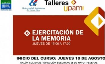 CURSO SOBRE EJERCITACIÓN DE LA MEMORIA