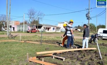 Comienzan a ejecutarse los primeros trabajos del grupo de viviendas por emergencia hídrica