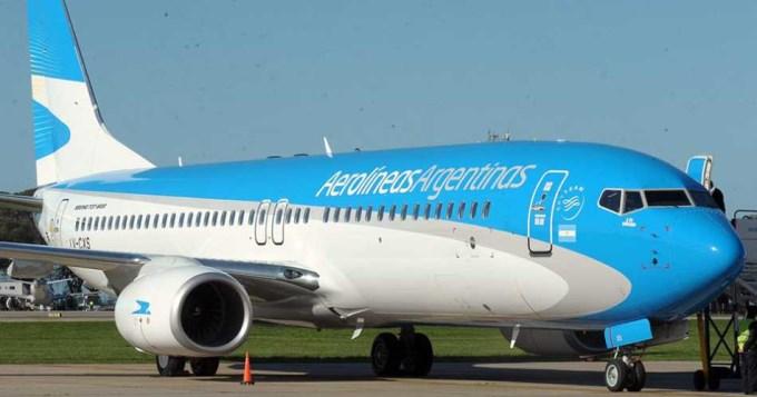 Aerolíneas suspendió por seguridad su vuelo a Caracas