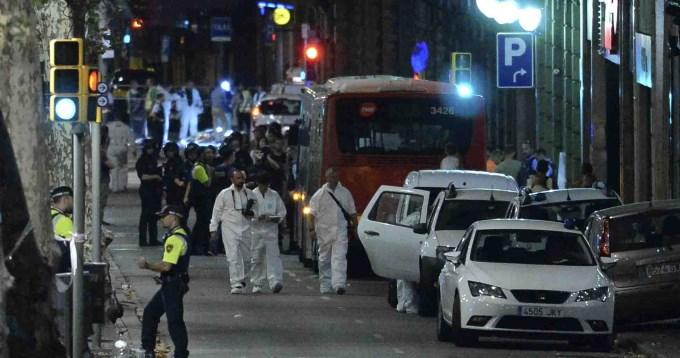 Dos argentinos heridos en el ataque de Barcelona