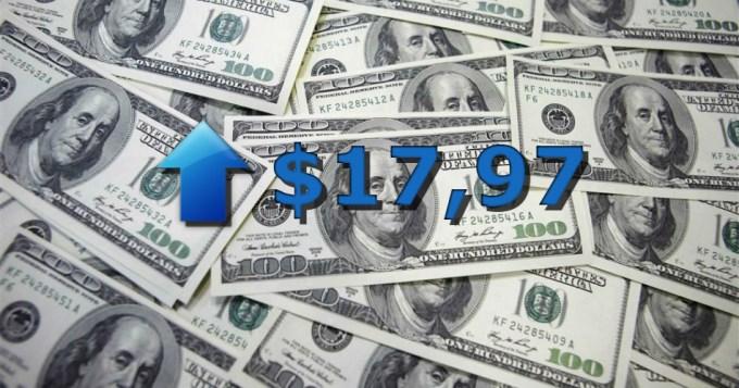 El dólar vuelve a estar cerca de los $18