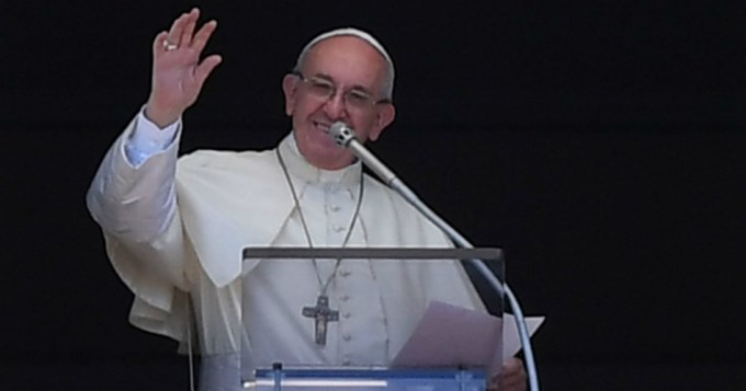 El Papa Francisco con indígenas