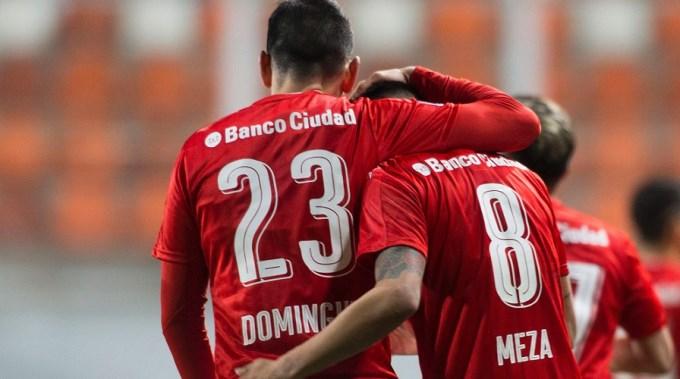 Independiente ganó en Chile y se metió en 8vos