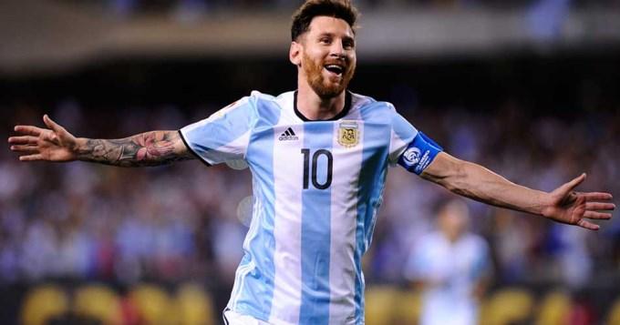 Lionel Messi cumple 12 años en la Selección