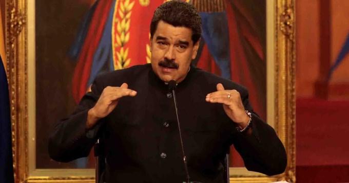 Maduro tildó de cobarde a Macri