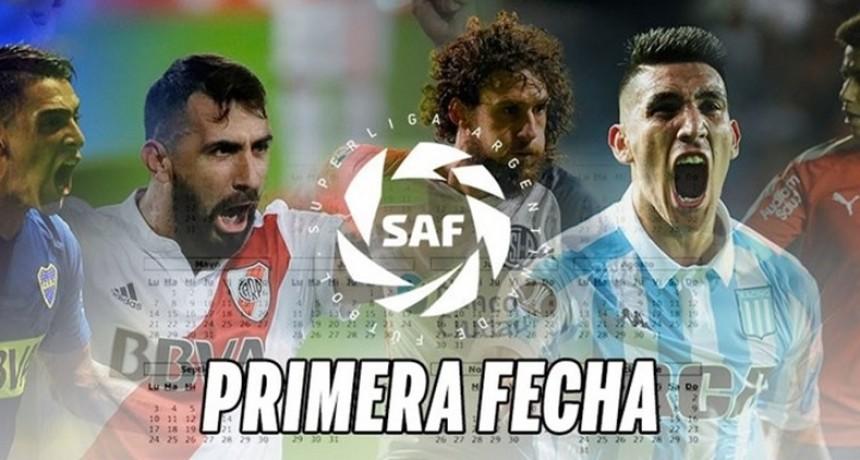Superliga: Los días, horarios y TV para la primera fecha del campeonato