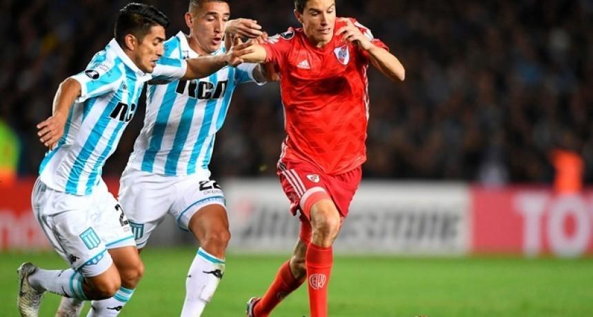 Racing y River no se sacaron diferencias e igualaron sin goles en Avellaneda