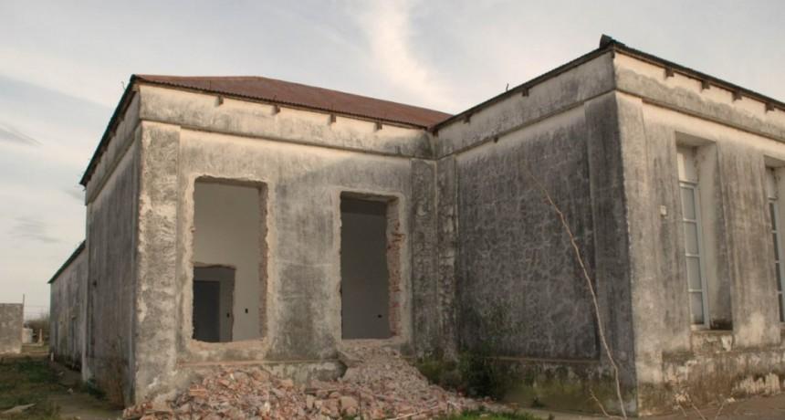 AVANZA LA OBRA EN EL EDICIFIO DEL EX HOSPITAL URQUIZA DE FEDERAL